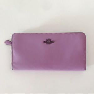 Coach | Lilac Leather Wallet